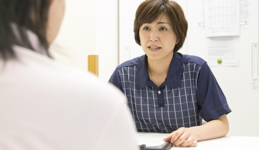 リハビリ、介護相談まで幅広く対応